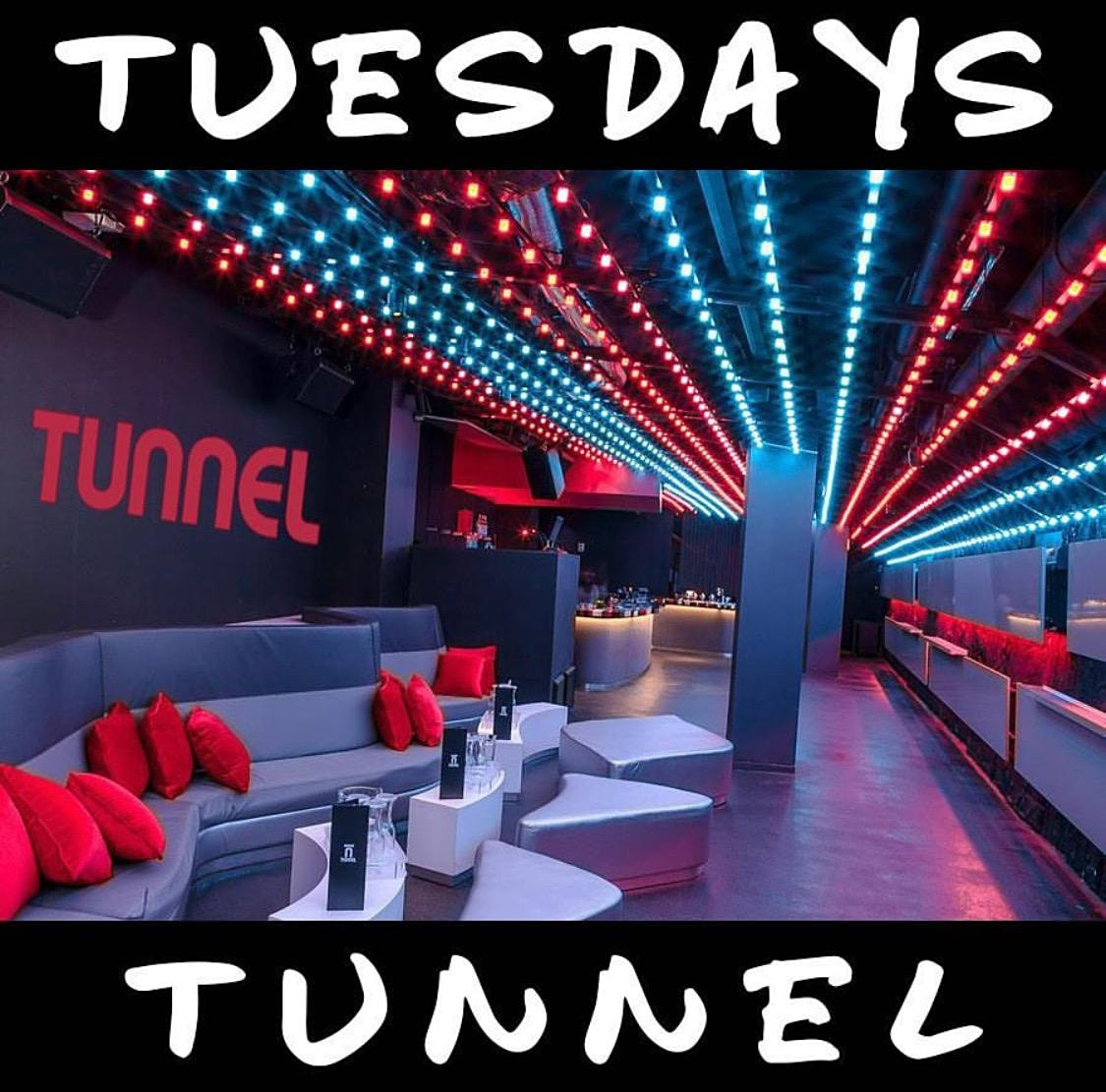 CLOSED Until Further Notice Due To CORONA VIRUS - #TunnelTuesdays at TUNNEL BOSTON