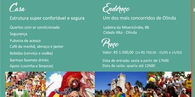 Casa Atrás de Tu - Ano 19 - Casa no Carnaval de Olinda 2019