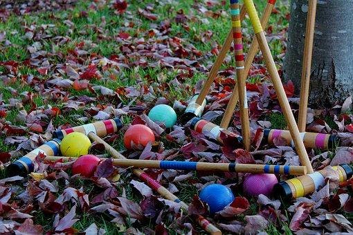 An afternoon of croquet