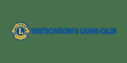 Watsontown Lions Club - 2019 August Sportsmen's Bingo