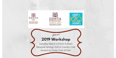 Area 3 Workshop for 2019 hosted by Zonta Club of Peel