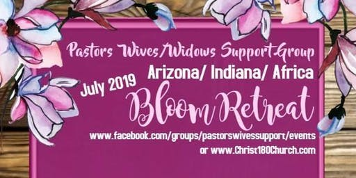 2019 Bloom Retreat - Pastors' Wives/Widows Support Group