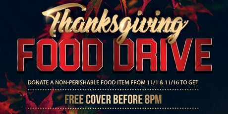 Thanksgiving Food Drive tickets