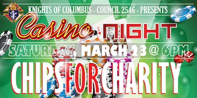 Chips for Charity - Knights of Columbus Inaugural