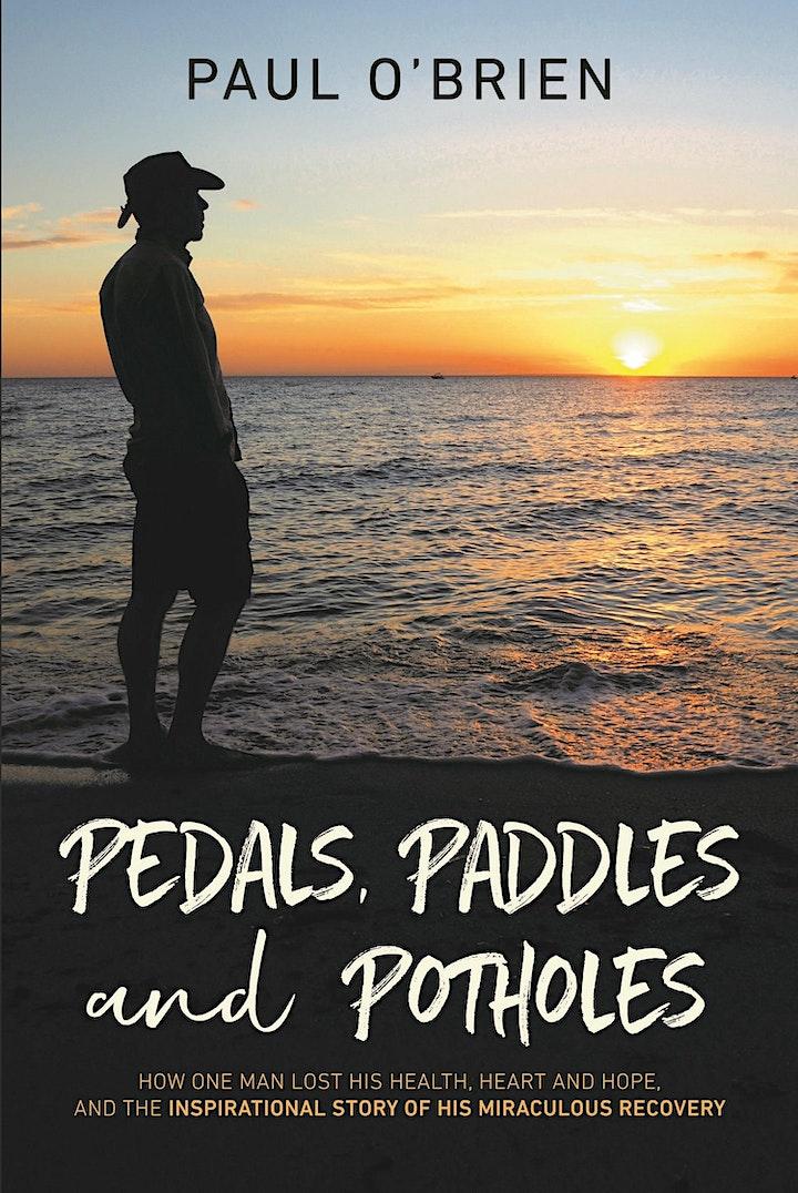 Pedals, Paddles & Potholes Book Launch image