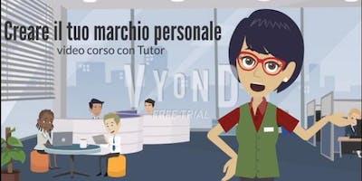 CREARE IL TUO MARCHIO PERSONALE. #Workshop-one-to-one