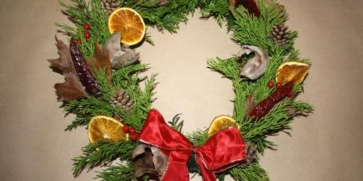 Christmas Wreaths and Gifts from the Garden