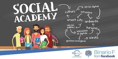 Social Academy - Instagram per la Sanità
