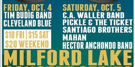 Blues Fest! - Milford Lake Concert Series Part 3 tickets
