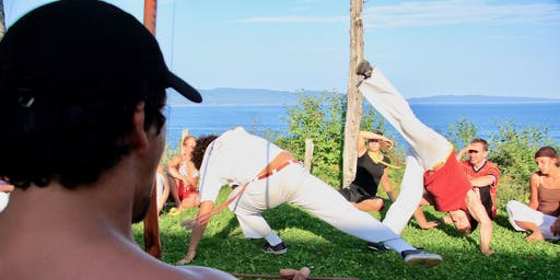 Capoeira na Beira do mar 2019