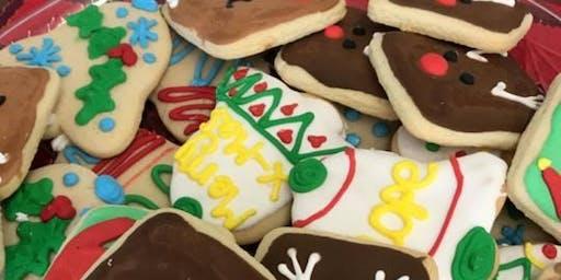 Kids Christmas Cookie Decorating