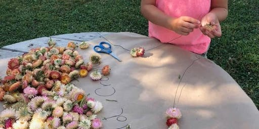 Flower Crown Making Class with Your Doll