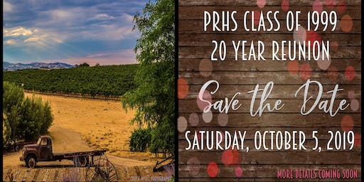 Paso Robles High School Class of 1999 Reunion