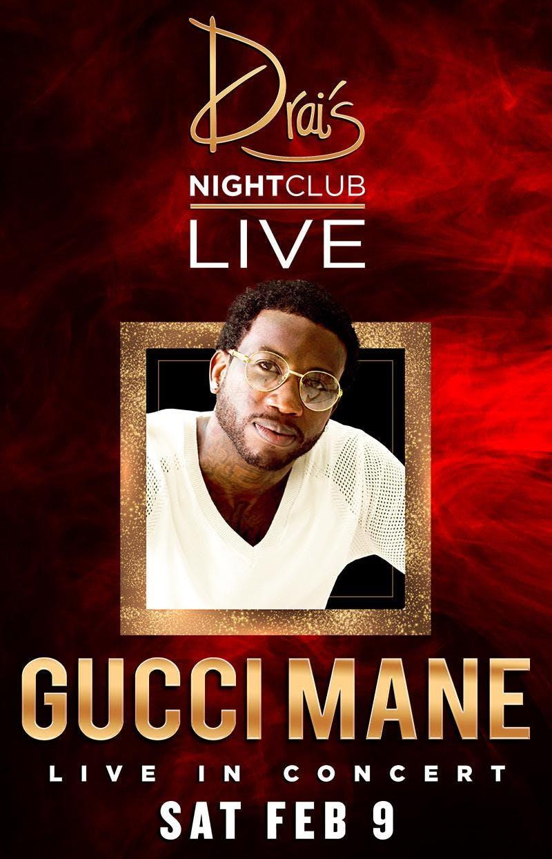 GUCCI MANE LIVE - Drais Nightclub - #1 Vegas HipHop Party