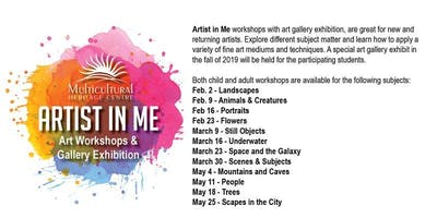 Artist in Me Child Workshop: Scenes and Subjects