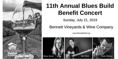 11th Annual Blues Build Benefit Concert tickets