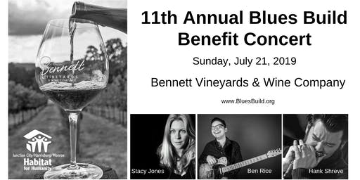 11th Annual Blues Build Benefit Concert