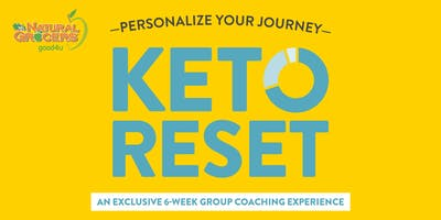 Keto Reset 6-Week Group Coaching Experience - Personalize Your Journey