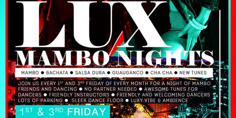 Lux Mambo Nights tickets