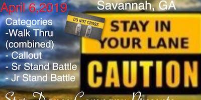 Stay In Your Lane Majorette Savannah