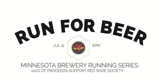 Beer Run - Brew Love 5k - Part of the 2019 MN Brewery Running Series