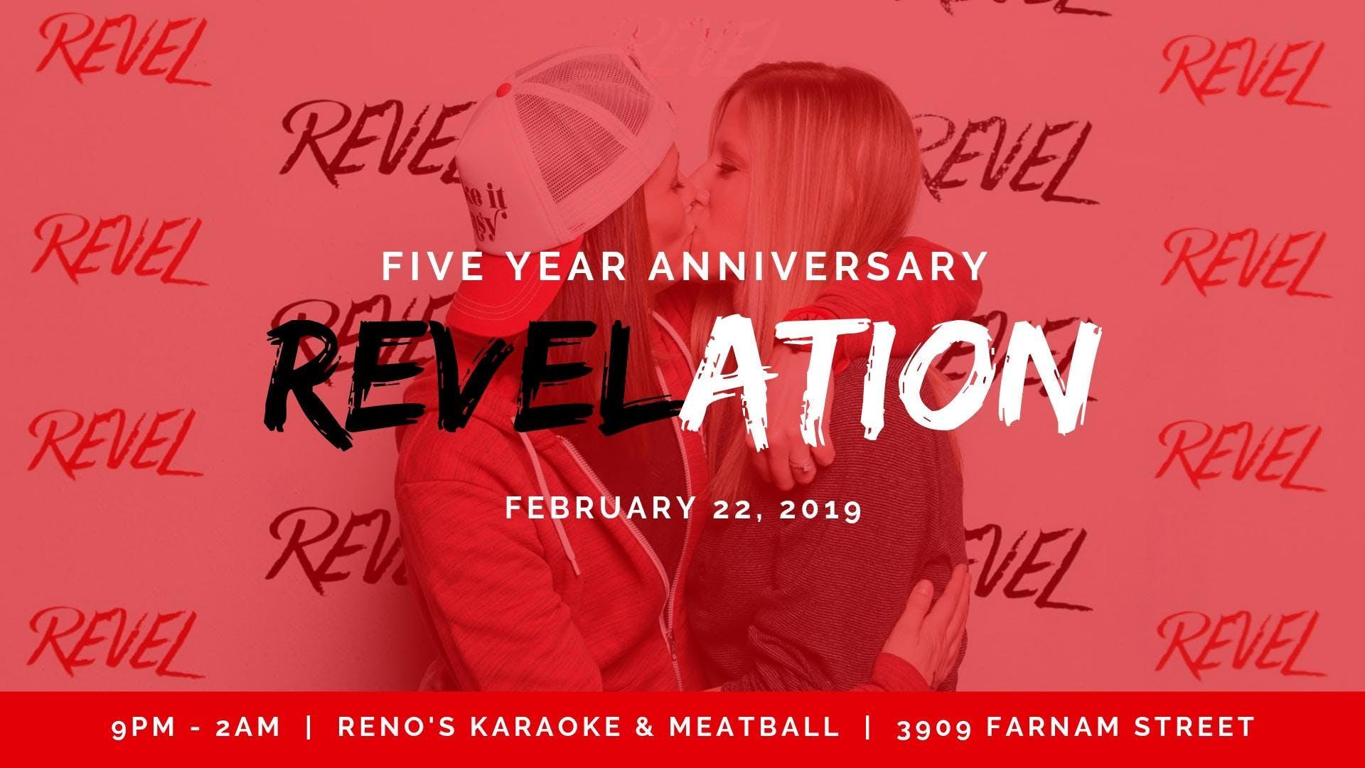 5 Year REVEL Anniversary