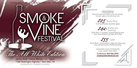 7th Annual Smoke & Vine Festival 2019 tickets