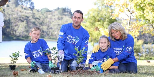 National Tree Day - Dunns Creek Biolink Planting Event