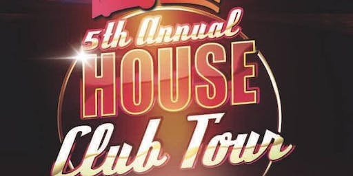 5th Annual HOUSE CLUB TOUR Pub Crawl