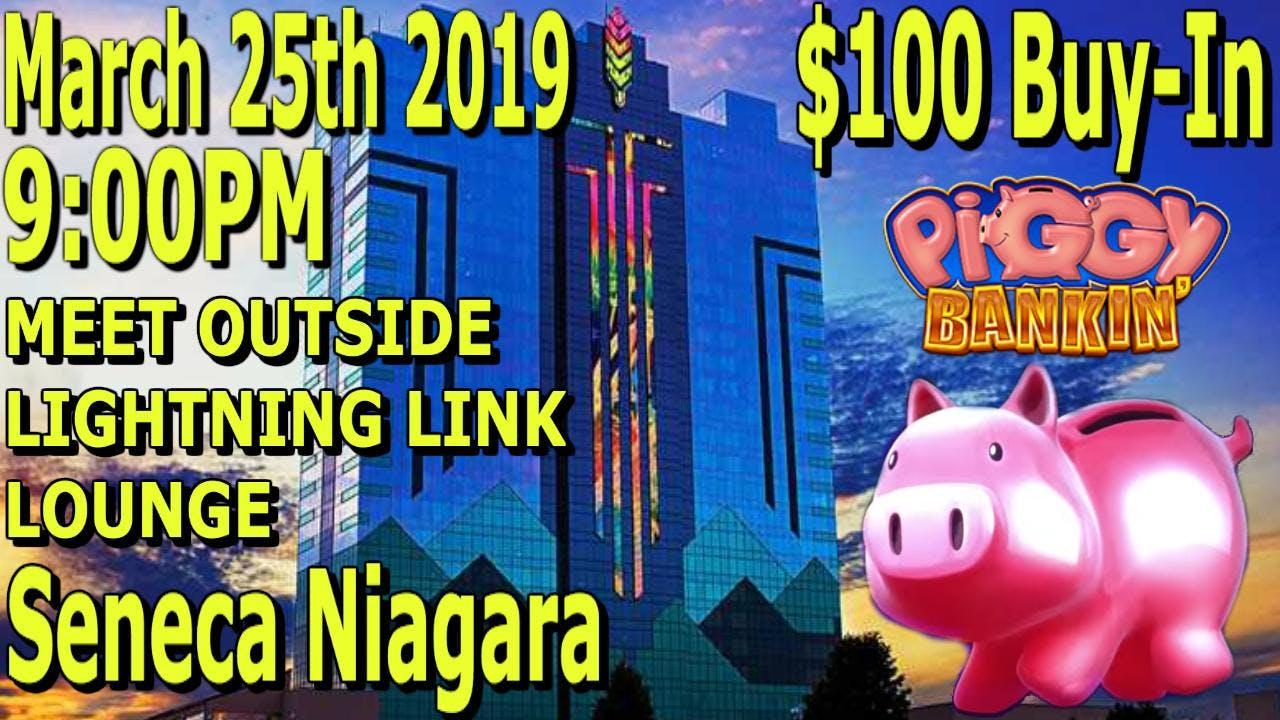$100 Group Pull - Piggy Bankin' - Seneca Niag