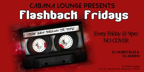 Flashback Fridays at Cabana Lounge tickets