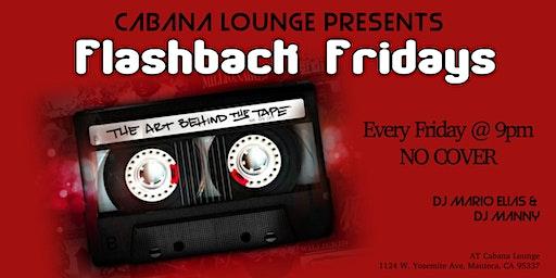 Flashback Fridays at Cabana Lounge