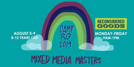 Mixed Media Masters | Summer Camp tickets