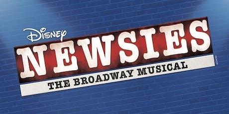 """DISNEY'S NEWSIES"" tickets"
