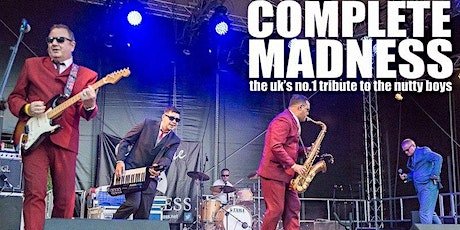 Complete Madness Tour 2020 @ Mansfield Town Football Club tickets
