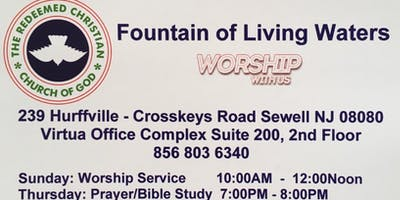 CHRISTIAN WORSHIP SERVICE - RCCG FOUNTAIN OF LIVING WATERS