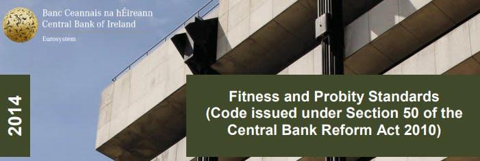 Fitness and Probity (inc. MCC) - Dublin
