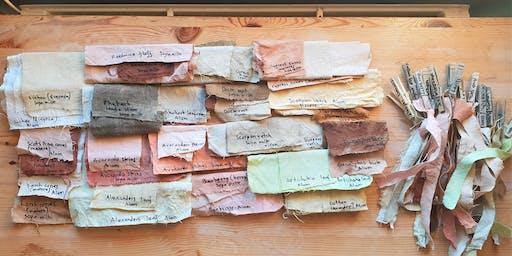 Seasonal Wild Natural Dyeing And Mushroom Papermaking (Summer)