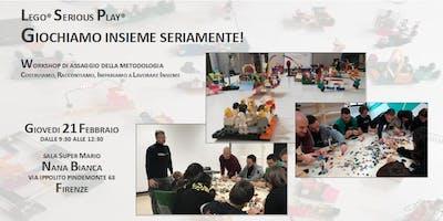 LEGO® Serious Play™ - Giochiamo Insieme Seriamente!