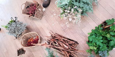 Seasonal Wild Natural Dyeing And Mushroom Papermaking (Winter)