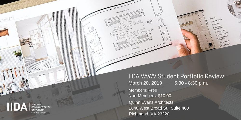 Iida Vawv Student Portfolio Review Vcu Campus Center Tickets Wed