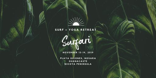 2019 Surf + Yoga Retreat