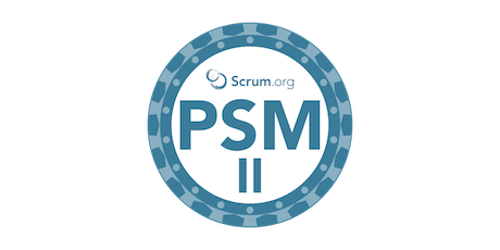Professional Scrum Master II by John Coleman, a daily active practitioner at scale tickets