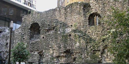 Guided Walk along the Roman Wall of London (Londinium)