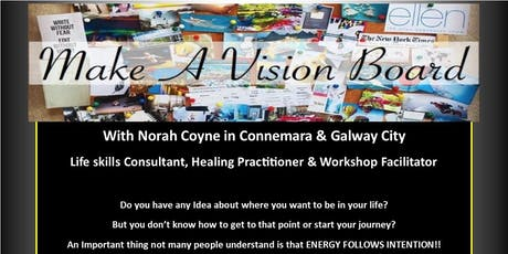 Make Your Own Visionboard Empowerment & Healing 1 Day Workshop tickets