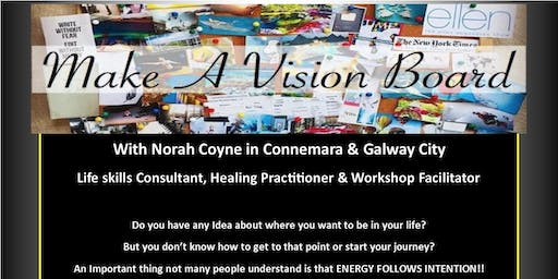 Make Your Own Visionboard Empowerment & Healing 1 Day Workshop