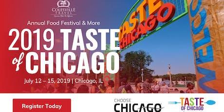 Taste of Chicago July 12-15, 2019 tickets