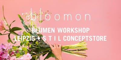 bloomon Workshop 14. März   Leipzig, S T I L Conceptstore