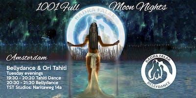 Bellydance and Ori Tahiti dance classes in Amsterd