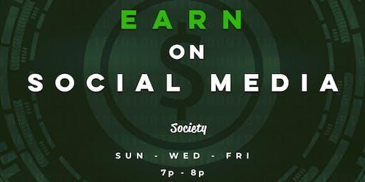 Earn On Social Media